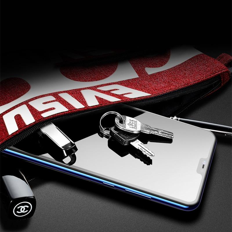 TOMKAS 6D Glass For Xiaomi Redmi Note 6 Pro Glass Case Redmi Note 5 Pro 6 6A 5 Plus For Xiaomi Mi 8 Lite A1 A2 Lite Pocophone F1