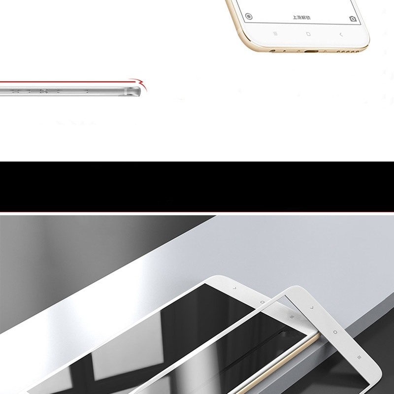 TOMKAS Tempered Glass For Xiaomi Mi A1 Screen Protector Full Cover Easy TO Install For Xiaomi Mi A1 Mi 5X Protective Glass Film