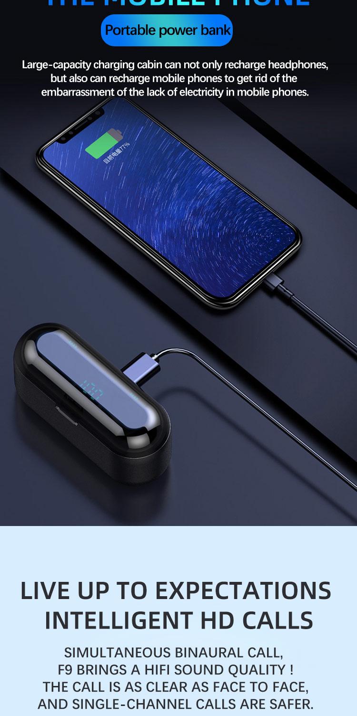 Mini In-Ear Wireless Earphones