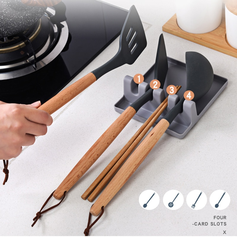 Kitchen Spoon Fork Spatula Holder