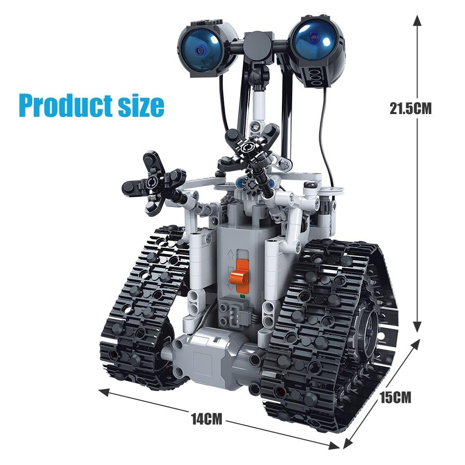 RC Robot Building Blocks Set
